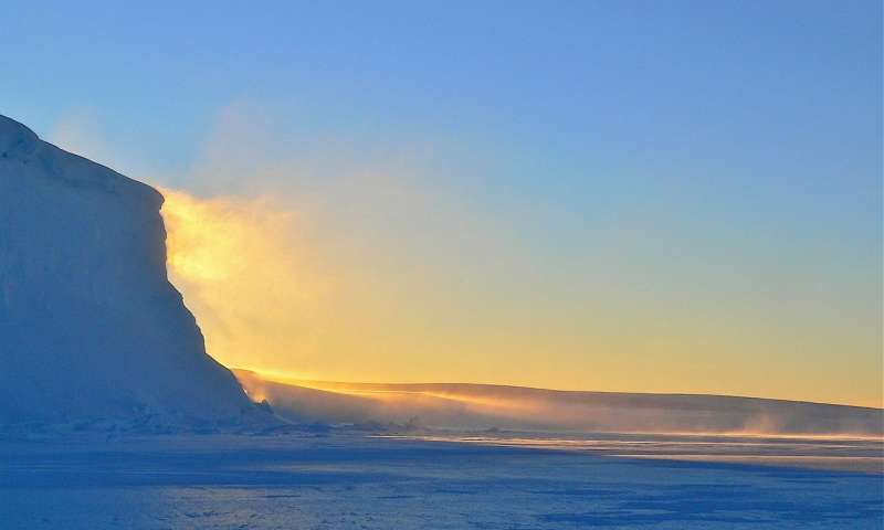 Ancient Antarctic ice sheet collapse could happen again triggering a new global flood