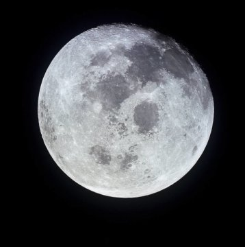 Getting a glimpse inside the moon