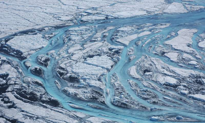 Greenland ice sheet melt off the charts compared with past four centuries