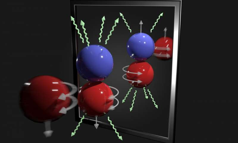 Precision experiment first to isolate measure weak force between protons neutrons