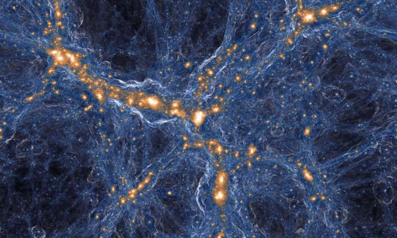 Rare relic is one of only three fossil clouds known in the universe