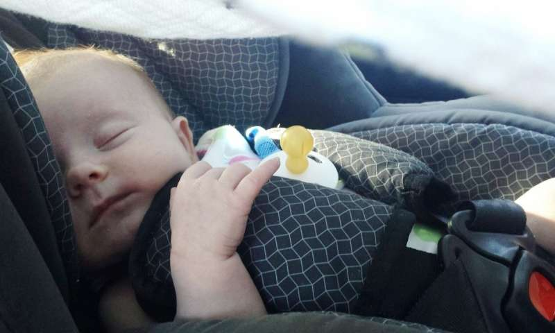 Study finds toxic flame retardants in childrens car seats