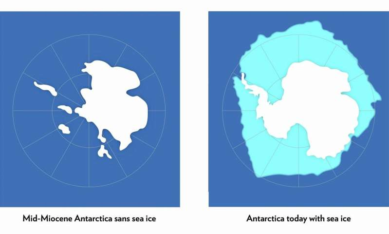 Antarctic ice sheet could suffer a one two climate punch