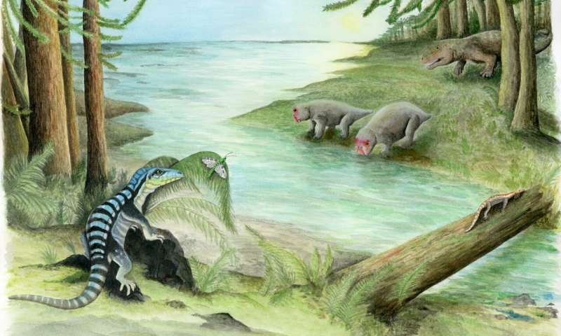 Iguana sized dinosaur cousin discovered in Antarctica