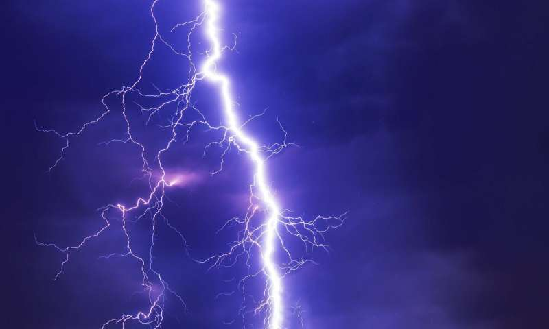 Laser triggers electrical activity in thunderstorm for the first time