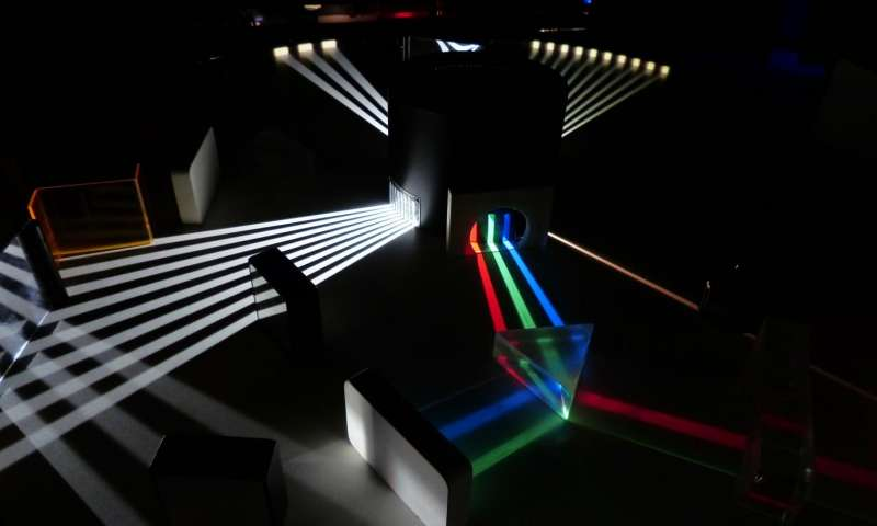 Scientists discover new ways to twist and shift light