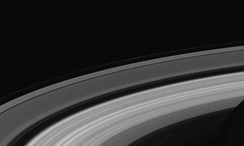 Waves in Saturns rings give precise measurement of planets rotation rate