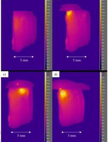 Electrically heated silicate glass appears to defy Joules first law
