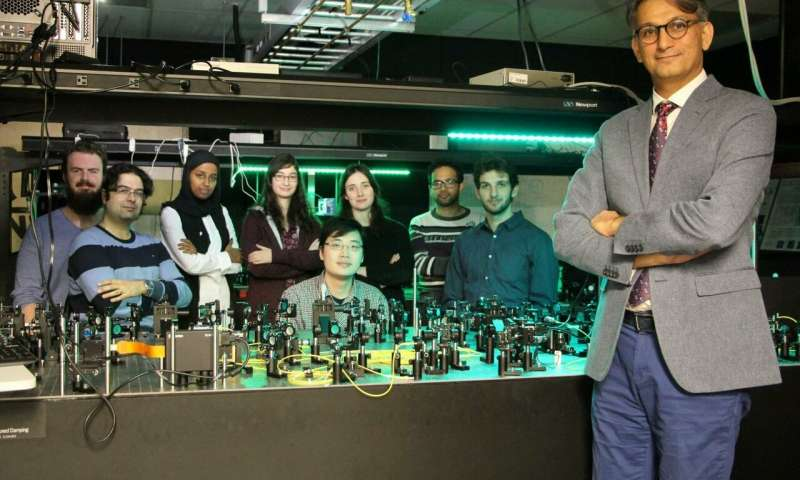 In the blink of an eye Team uses quantum of light to create new quantum simulator