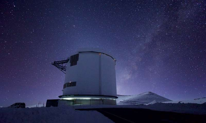 James Clerk Maxwell Telescope discovers flare 10 billion times more powerful than those on the sun