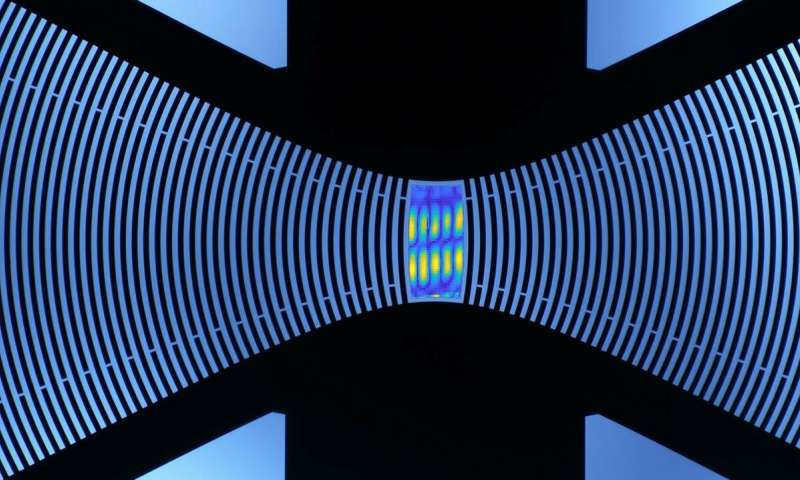 Sound waves let quantum systems talk to one another