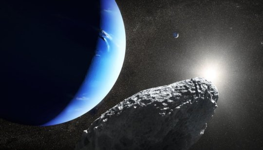 Tiny Neptune moon spotted by Hubble may have broken from larger moon