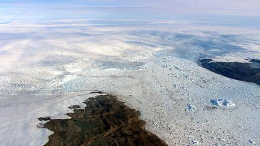 Big U turn Key melting Greenland glacier is growing again