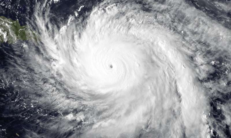 Climate change to blame for Hurricane Marias extreme rainfall