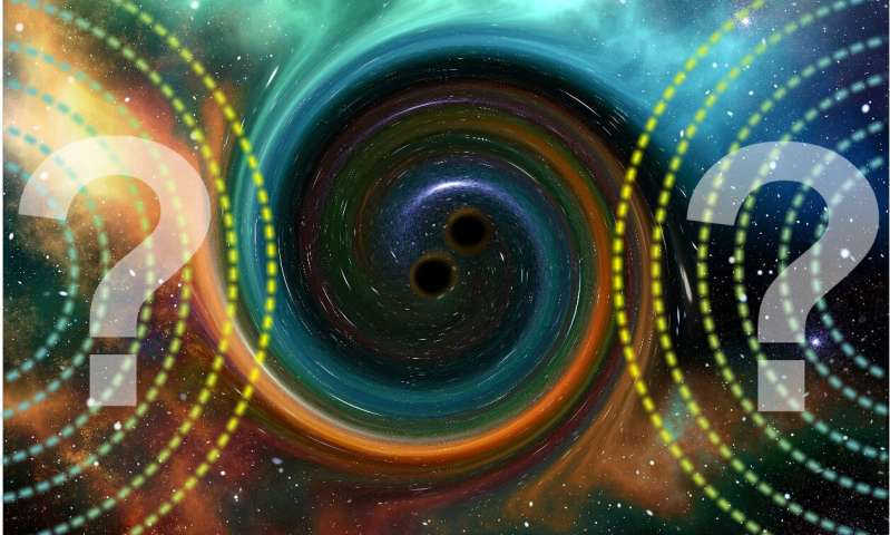 Gravitational echo phenomenon will become a key to the new physics physicist says 1