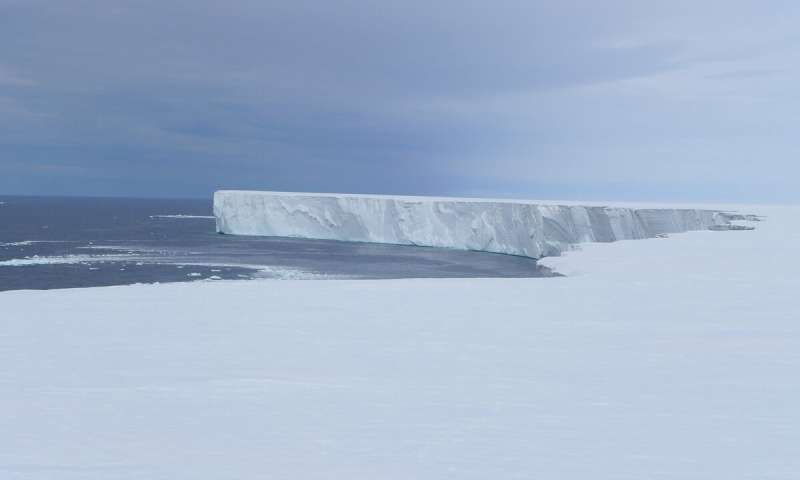 Rapid melting of the worlds largest ice shelf linked to solar heat in the ocean