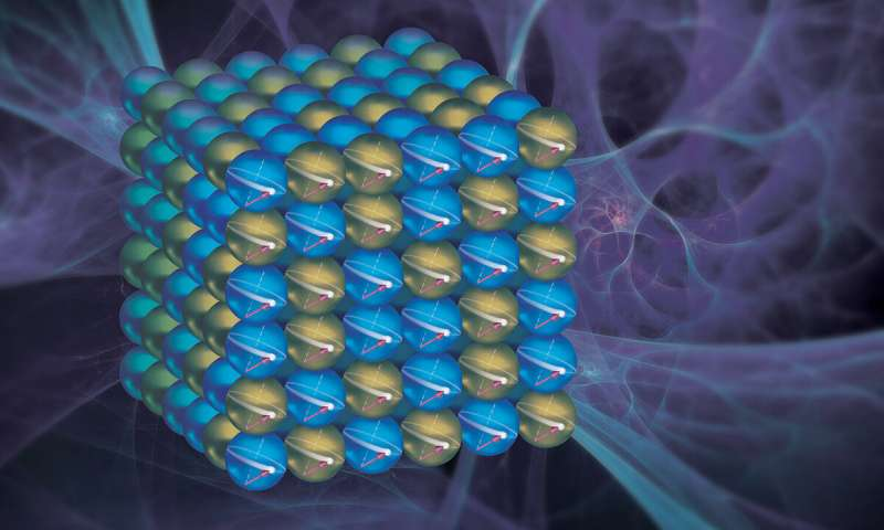 The spin doctors Researchers discover surprising quantum effect in hard disk drive material