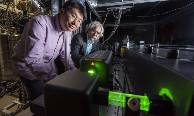 UCI scientists are first to observe image all important molecular vibrations