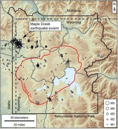 Aftershocks of 1959 earthquake rocked Yellowstone in 2017 18