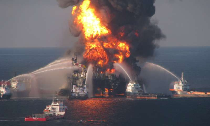Complex geology contributed to Deepwater Horizon disaster new study finds