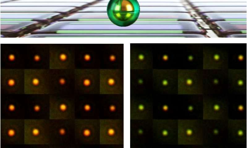 Smallest pixels ever created could light up color changing buildings