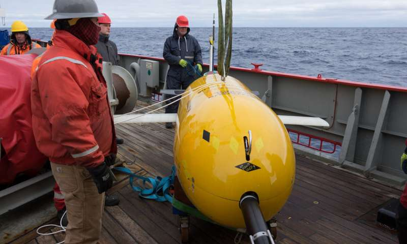 Boaty McBoatface mission gives new insight into warming ocean abyss