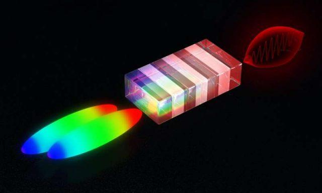 Laser trick produces high energy terahertz pulses