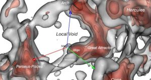 cropped Astronomers map vast void in our cosmic neighborhood