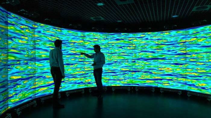 cropped Supercomputers use graphics processors to solve longstanding turbulence question
