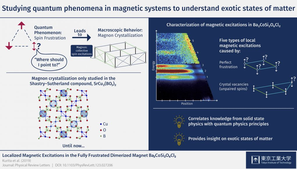 Studying quantum phenomena in magnetic systems to understand exotic states of matter