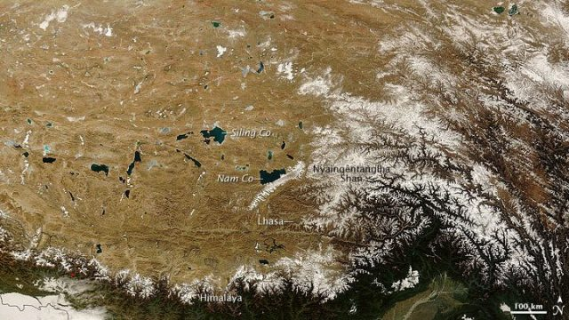 cropped Decades old pollutants melting out of Himalayan glaciers