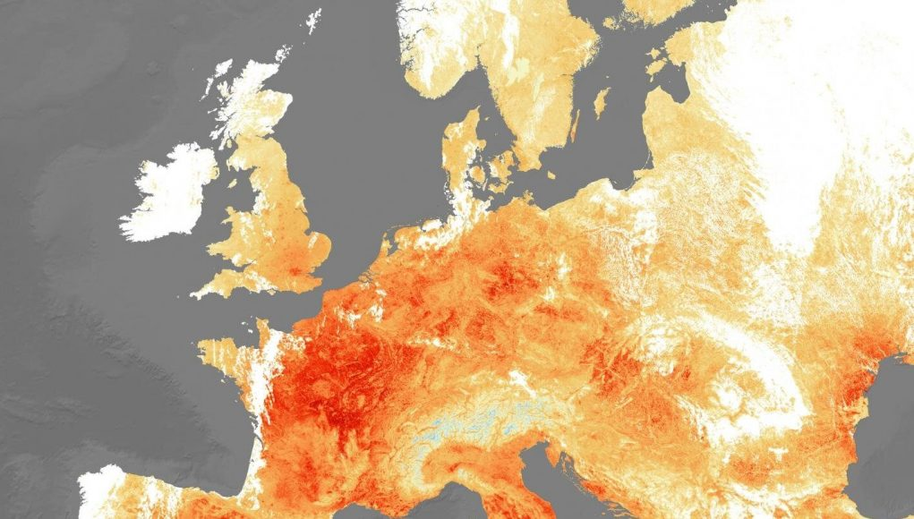 cropped Europe warming faster than expected due to climate change