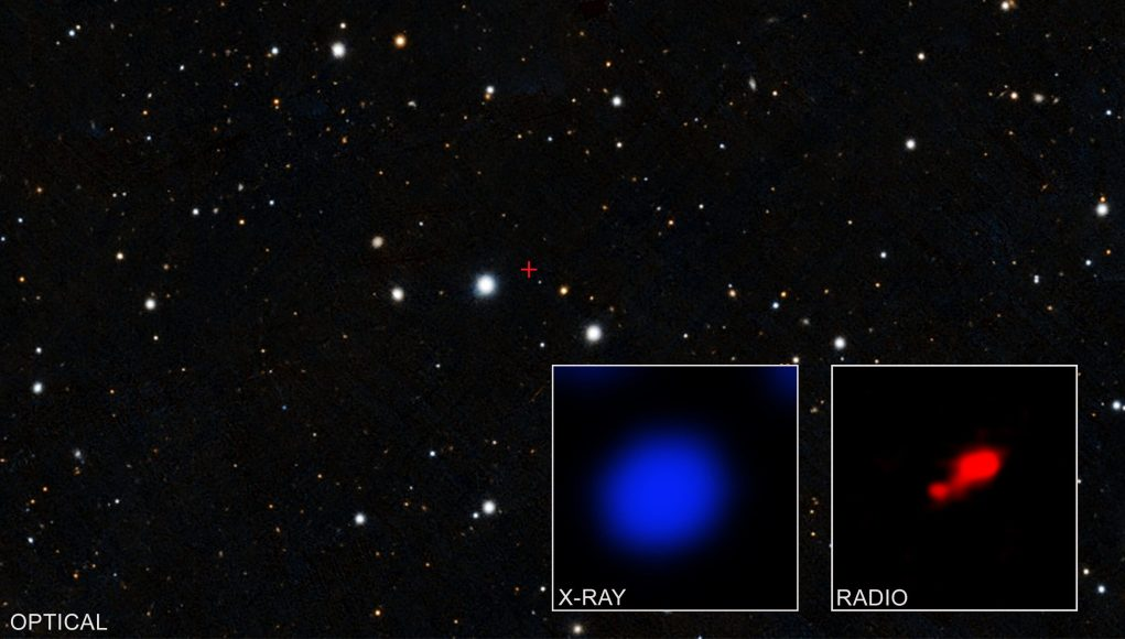 cropped Evidence found for cloaked black hole in early universe