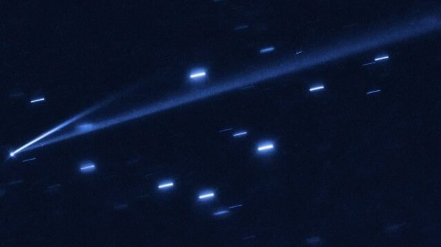 cropped For the first time astronomers catch asteroid in the act of changing color