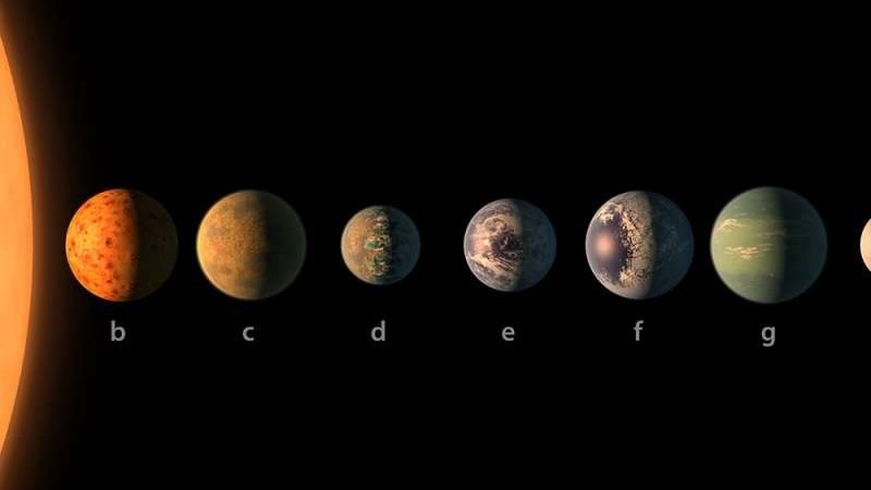 cropped James Webb Space Telescope could begin learning about TRAPPIST 1 atmospheres in a single year study indicates
