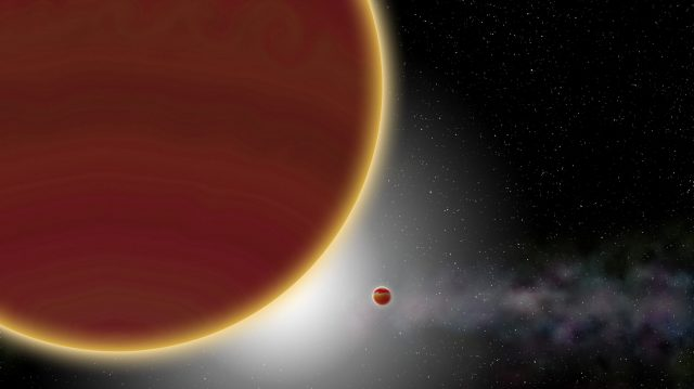 cropped New planet discovered in orbit of young Milky Way star