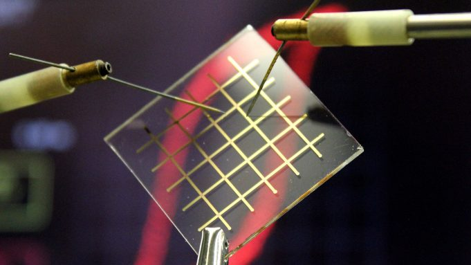 cropped Nylon as a building block for transparent electronic devices