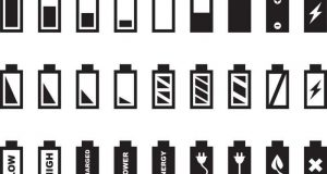 cropped Battery icons shape perceptions of time and space and define user identities