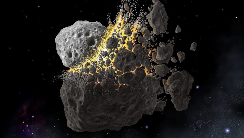cropped Dust from a giant asteroid crash caused an ancient ice age