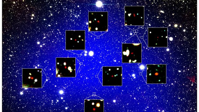 cropped Oldest galaxy protocluster forms queens court