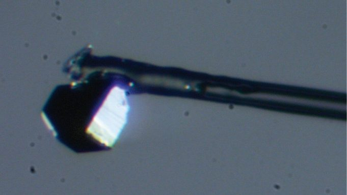 cropped Student discovers unusual new mineral inside a diamond