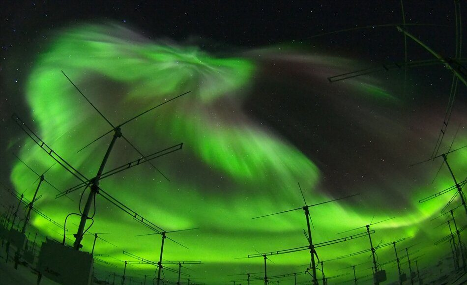 First measures of Earths ionosphere found with the largest atmospheric radar in the Antarctic