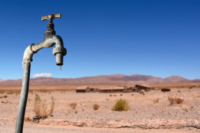 The world is getting wetter yet water may become less available for North America and Eurasia