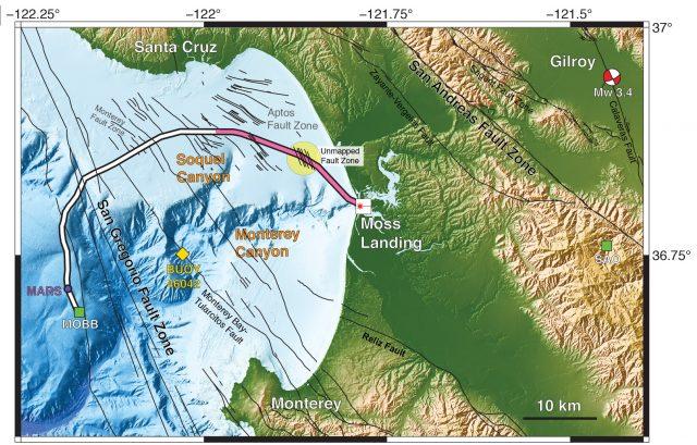 Underwater telecom cables make superb seismic network
