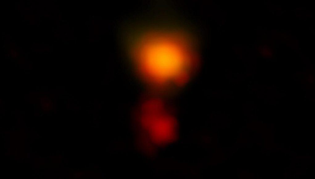 ALMA spots most distant dusty galaxy hidden in plain sight