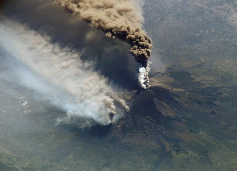 Forces from Earths spin may spark earthquakes and volcanic eruptions at Mount Etna