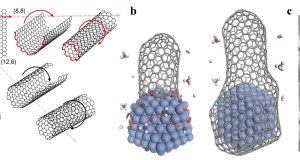 Growing carbon nanotubes with the right twist scaled