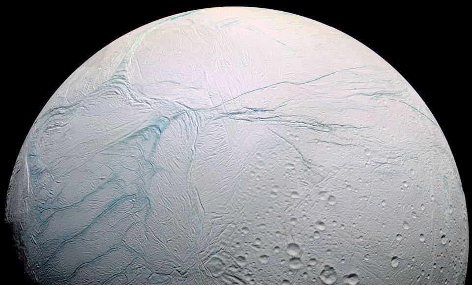 How Enceladus got its stripes