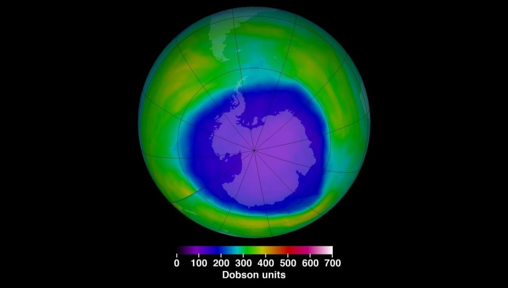 How saving the ozone layer in 1987 slowed global warming
