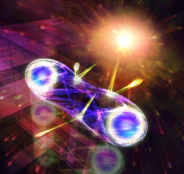 How to use entanglement for long distance or free space quantum communication